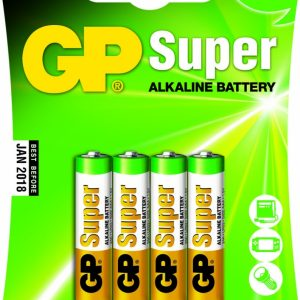 AAA batterijen - 4 stuks